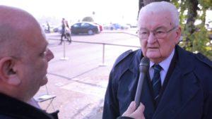 Boross Péter volt miniszterelnök nyilatkozott a heti tv-nek riporter Breuer Péter