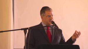 Debrecen Pásti utcai Ortodox Zsinagoga átadása Kósa Lajos beszéde
