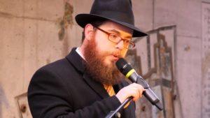 Egységes Magyarországi Izraelita Hitközség gyertyagyújtás a gettófelszabadulás emlékére