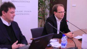 Hoppál Péter Emberi Eőforrások Minisztériumának kultúráért felelős államtitkár
