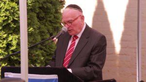 Váci Zsidó Hitközség megemlékezése a holokauszt áldozatairól Turai János beszéde