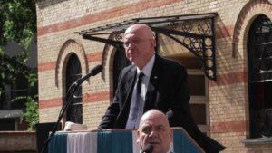 A Holokauszt 72. évfordulójára emlékeztek Budapesten